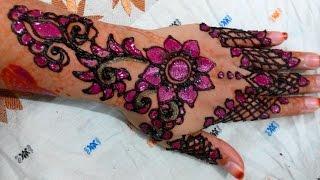 Full Hand Bridal Eid Pakistani Indian Mehndi Designs Boondi