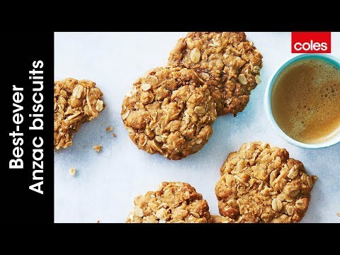 How to make the perfect Anzac biscuits