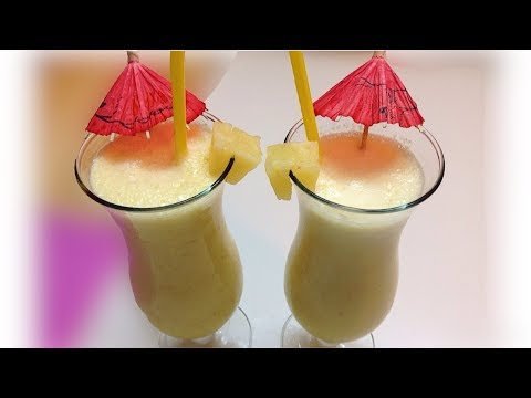Pineapple Banana Smoothie - Special Refreshing Smoothie for Ramadan