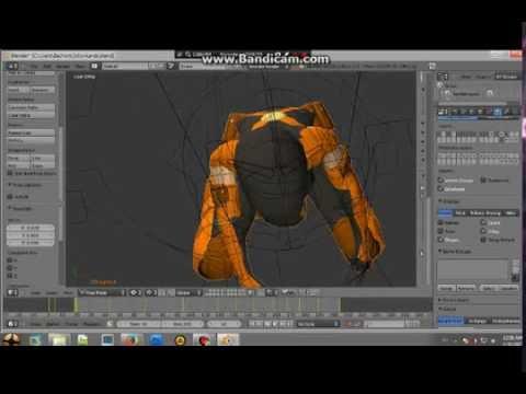 Cara cepat dan mudah membuat animasi bergerak menggunakan blender 3D