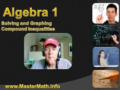 Algebra 1 - Graphing and  Solving Compound Inequalities