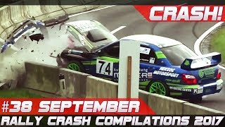 Rally Crash Compilation Week 38 September 2017 | RACINGFAIL