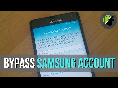 Bypass Samsung account (Reactivation Lock) on all Samsung devices | Last method 2017