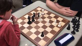 7 Year Old's Endgame Technique Is Scary! Golan vs. Richard