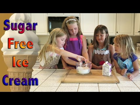 How to Make Sugar Free Ice Cream - Kids Can Cook!