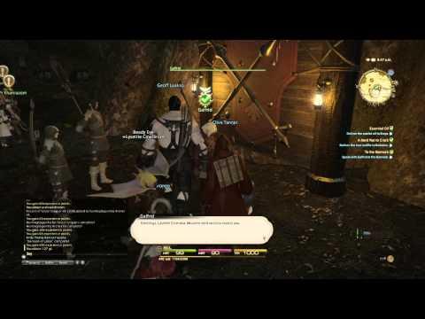 FINAL FANTASY XIV: A Realm Reborn PS4 Beta gameplay HD