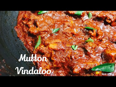 Recipe 37- Mutton Vindaloo at home| Easy Lamb Vindaloo recipe | Restaurant style Mutton Vindaloo