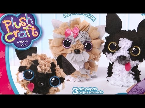 Plush Craft Fabric Fun Puppy Pack from ORB Factory