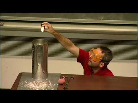 Liquid Nitrogen and Fire!