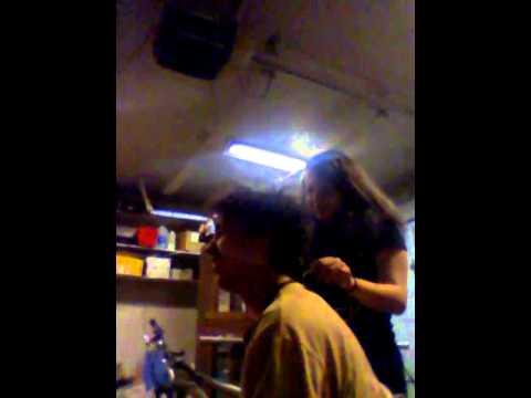Straighting boy hair