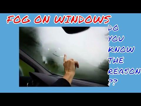Why fog forms on Windows?