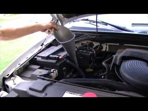 How to Check Transmission Fluid - 2001 Ford F150