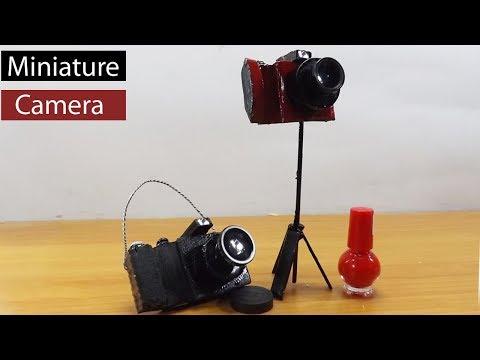 Miniature Digital Camera DIY | How to make Dollhouse Toy