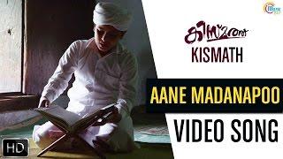 Kismath Malayalam Movie | Aane Madanapoo Song Video | Shane Nigam, Shruthy Menon | Official