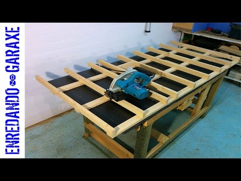 How to make a circular saw cutting table