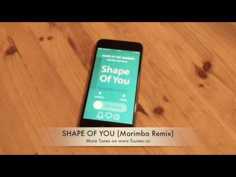 Shape Of You Ringtone (Ed Sheeran Tribute Marimba Remix Ringtone) • For iPhone & Android