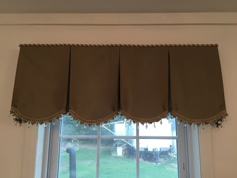 Step 9 How To Board Mount Your Scalloped Valance