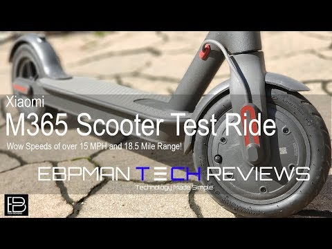 Xiaomi M365 Scooter - Tips, Firmware upgrade, Slime, Disk