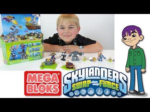 MEGA BLOKS - Skylanders Swap Force - Spyro, Hex and More