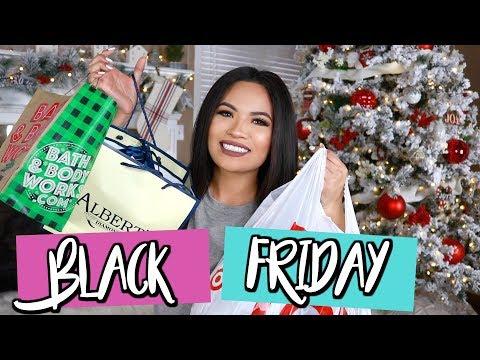 WHAT I GOT MY FAMILY FOR CHRISTMAS | BLACK FRIDAY HAUL | Belinda Selene