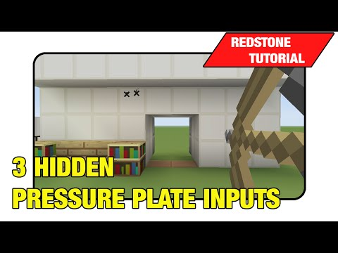 3 Hidden Pressure Plate Inputs [Simple]