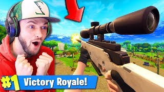 Going 1ST PERSON MODE in Fortnite: Battle Royale! (ALL GUNS)