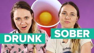 Drunk Vs. Sober Beer Pong