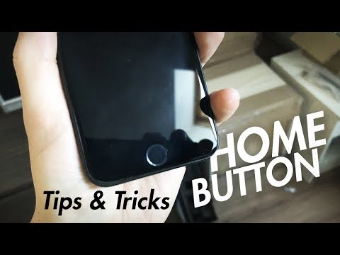 Home Button on iPhone 7/8 - Tips and Tricks