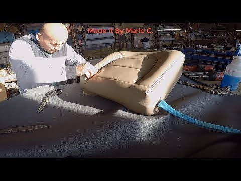 Make  bottom cushion Seat Cover, ford f350