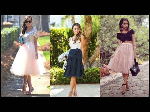 How to Wear a Tulle Skirt Without Looking Like a Ballerina