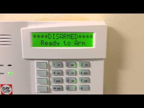 How to Arm and Disarm Bay Alarm via keypad.