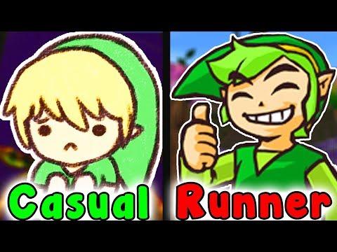 Casual VS Speedrun - WOODFALL TEMPLE (Legend Of Zelda Majora's Mask)
