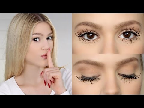 THE SECRET TO MY LASHES!
