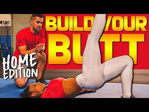 🍑 9 Bodyweight GLUTE Isolation Exercises You MUST Do for Your Butt (at Home)