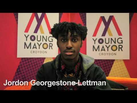 Croydon Young Mayor candidate - Jordon Georgestone Lettman