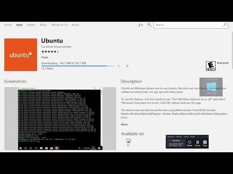 Hands On with Ubuntu Windows Store app