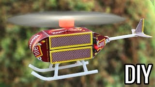 How to Make a Helicopter - Matchbox Helicopter   DIY