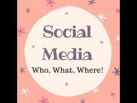 How to use SM platforms and what to post!