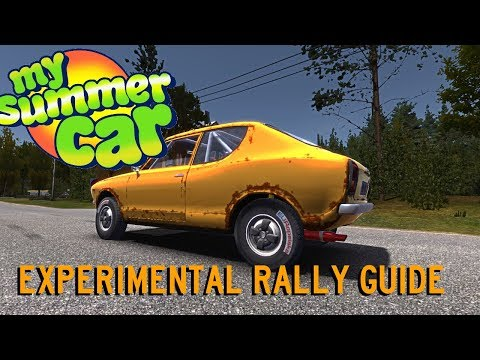 My Summer Car | New Rally System | Experimental