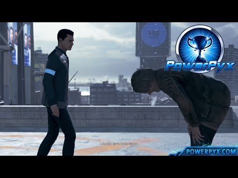 Detroit Become Human - SAVE HANK Trophy Guide (Connor Saves Hank)