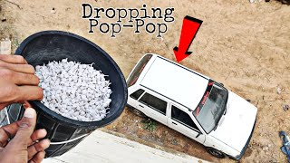 Dropping Pop Pop Crackers On Our Car || Pop Pop Crackers vs Car Experiment || Experiment King