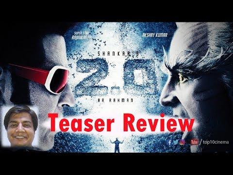Teaser review of 2.0 by Saahil Chandel | Rajnikant | Akshay Kumar