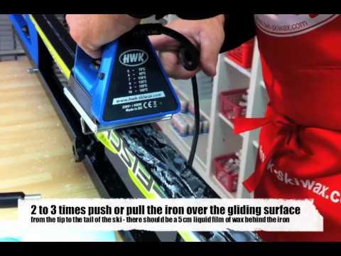 Waxing like a pro - HWK ski wax - base waxes Nordic