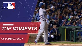 Dodgers take 3-0 NLCS lead, plus nine more moments around MLB: 10/17/17