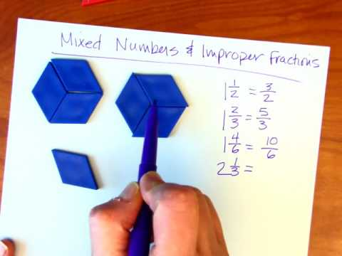 Mixed Numbers & Improper Fraction Conversions