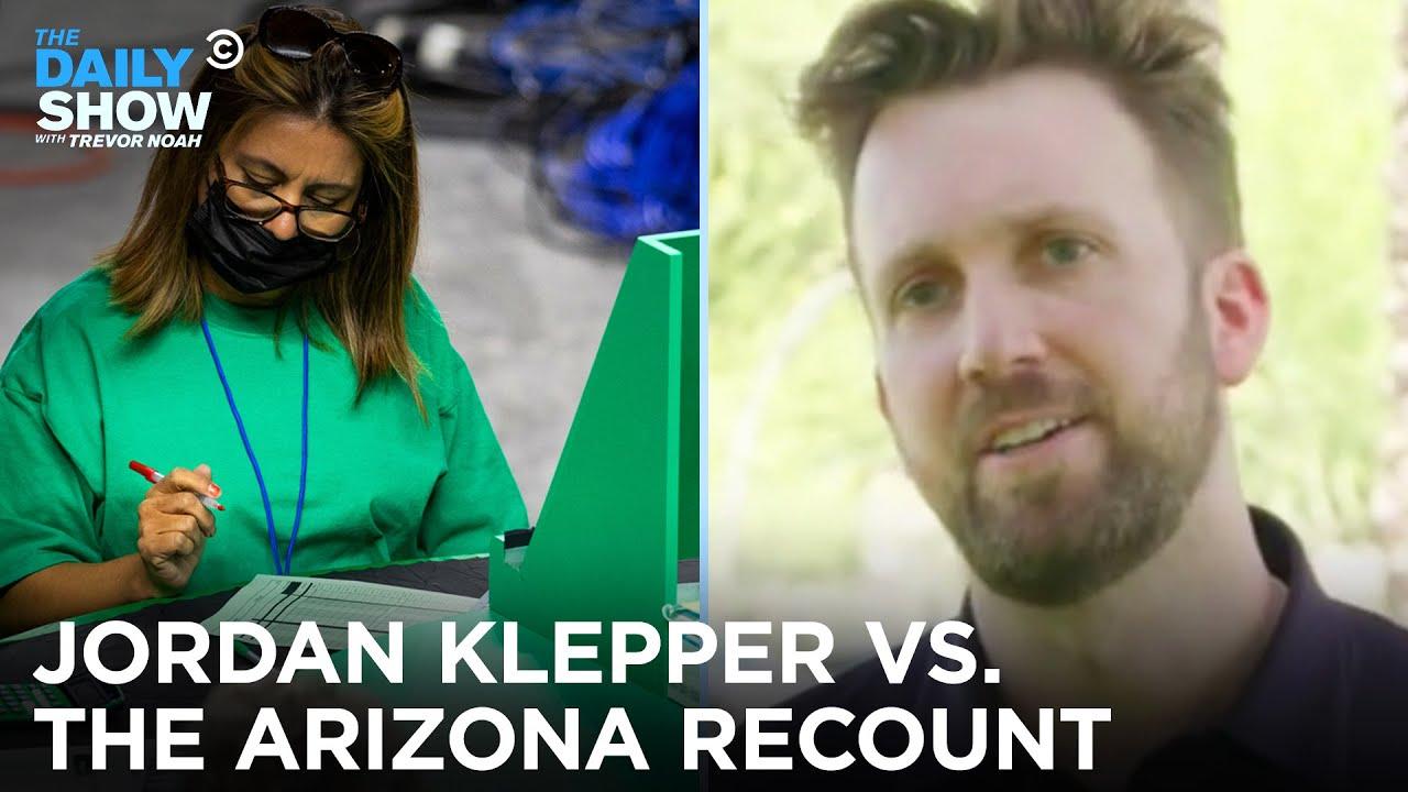 Arizona's Vote Recount - Jordan Klepper Fingers the Pulse | The Daily Show