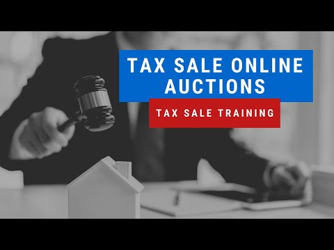 Tax Sale Investing