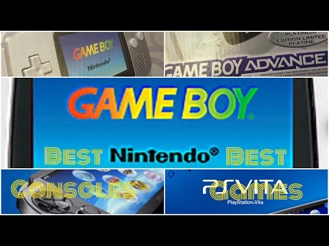 Retro And New Consoles: Gameboy, PSP, PS Vita, New Nintendo 3DS XL. Review, Playing and Having Fun