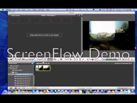 How to Reverse a Video in iMovie '09