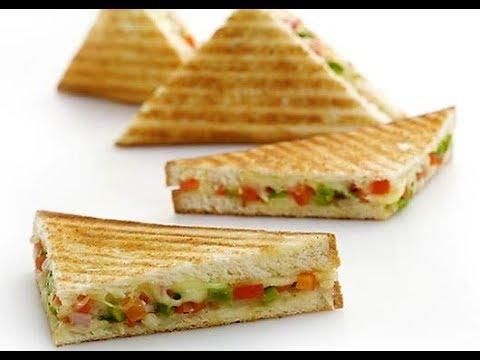 Grilled Corn Cheese Sandwich || Corn Mayo Sandwich || Grilled corn capsicum sandwich ||